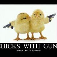 Chicks with guns💥