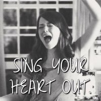 """SING YOUR HEART OUT!""* 💥💥"