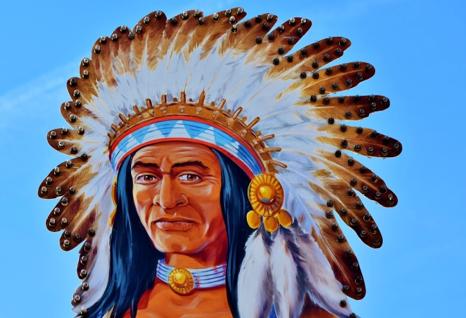 I am a Native American and contrary to the misguided and even more sinister intent, WE ARE NOT GODLESS