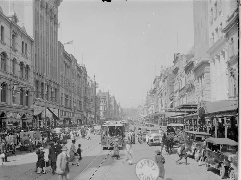 Australian History, Victoria, Melbourne