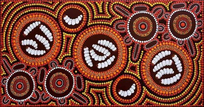 The Seven Sisters (Pleiades) Star Dreaming Story – Aboriginal Art Stories
